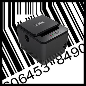 PosBank A7 Գծիկավոր կոդերի(շտրիխ-կոդերի) տպիչ ЧЕКОВЫЙ ПРИНТЕР POSBANK A7